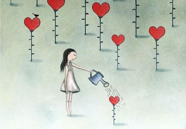 Ninguém perde dando Amor, perde quem não sabe como Recebê-lo